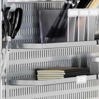 Elfa Storage Tray Shelf for Craft Board