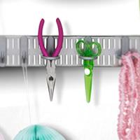 3 x Circle Tool Hooks - Elfa