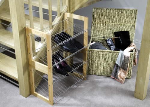 lidded seagrass storage baskets