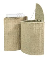 Large Seagrass Laundry Basket
