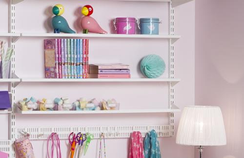 Elfa Craft Extra Long Narrow Shelf