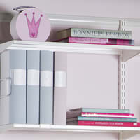 Elfa Reversible Metal Shelf Tray - 60cm x 25cm