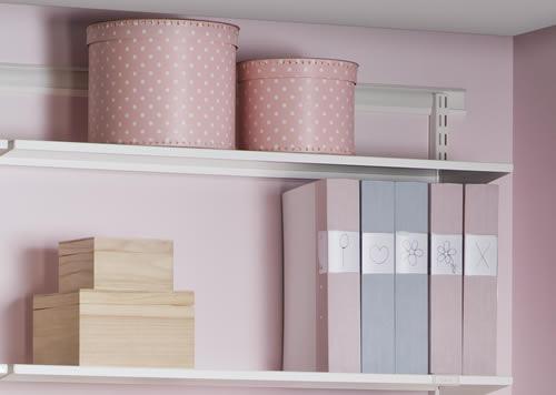 Elfa Craft Extra Long Shelf