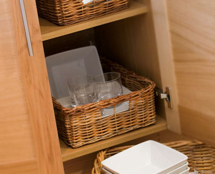 Medium Rectangular Wicker Basket