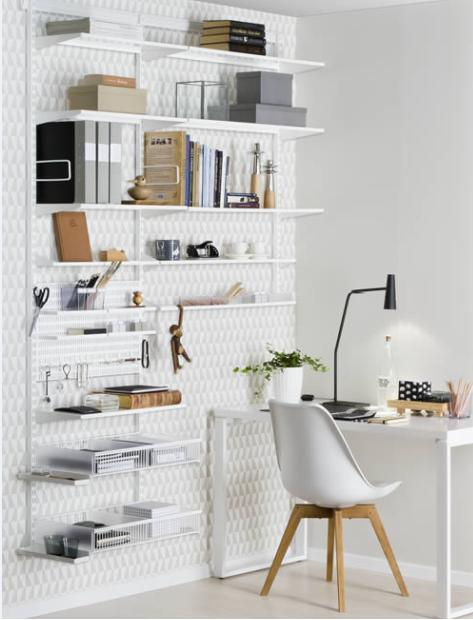 100 ideas home office shelving systems on