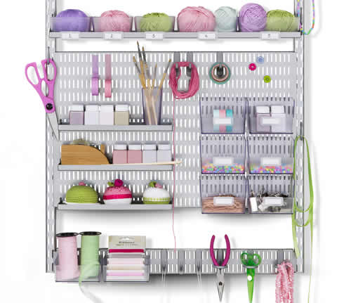 Craft Storage Shelving