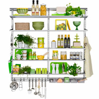 Elfa Best Selling Solution - Kitchen Storage 2