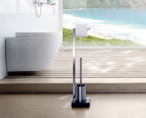 Loo Roll and Toilet Brush Stand