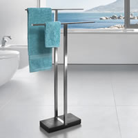 Duo Freestanding Towel Rail