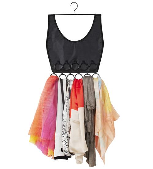 Scarf & Pashmina Organiser - Boho Dress