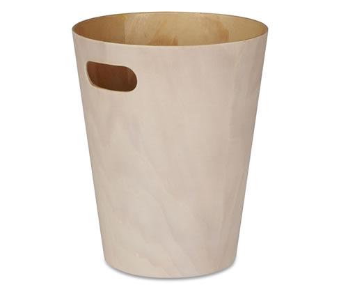 White Wooden Bin