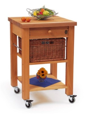 Lambourn Kitchen Trolley with Basket