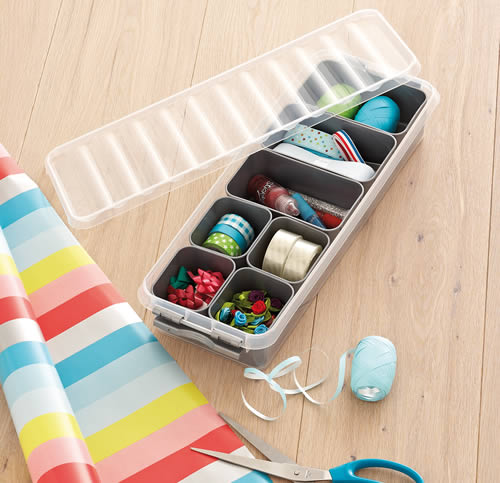 Craft Organiser storage trays with Dividers