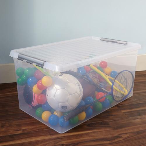 Xxl plastic storage boxes