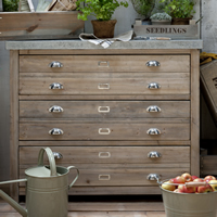 Architects Cabinet - Chest of Drawers