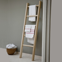 Solid Oak Towel Ladder