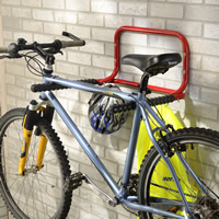Fold-Up Bike and Helmet Rack