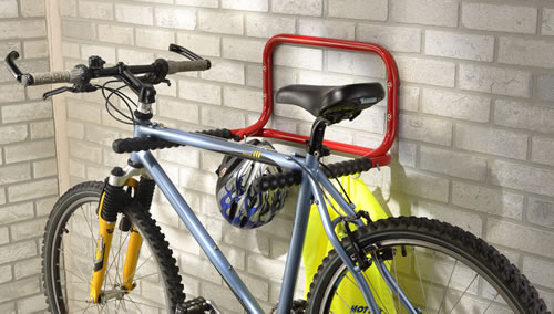 Flip Up Bike Shelf and Rack