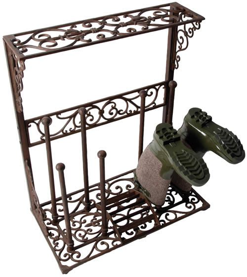 wellington boot storage stand