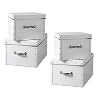 Set of 4 Storage Boxes