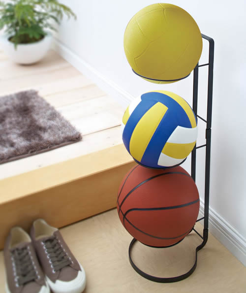 Lovely Sports Ball Storage Stand