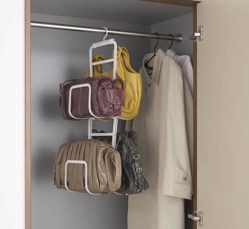 Wardrobe Handbag Organiser