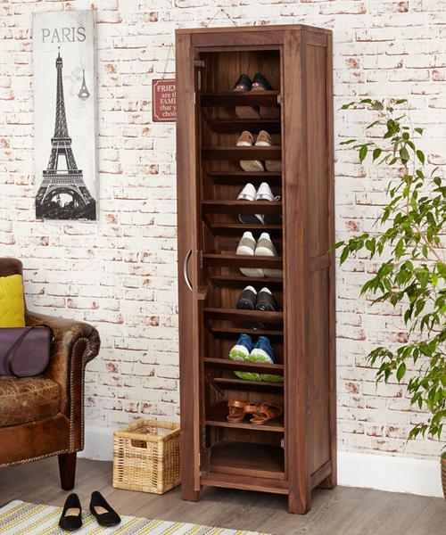 Tall Shoe Storage Cupboard