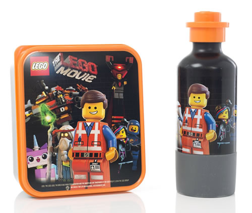 LEGO Movie Lunch Box and Drinking Bottle