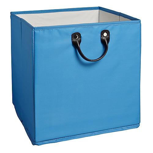 Storage basket for modular cube
