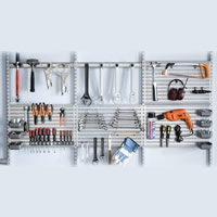 Complete Tool Store from Elfa - Large