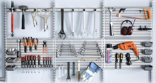 elfa Garage tool Organisation
