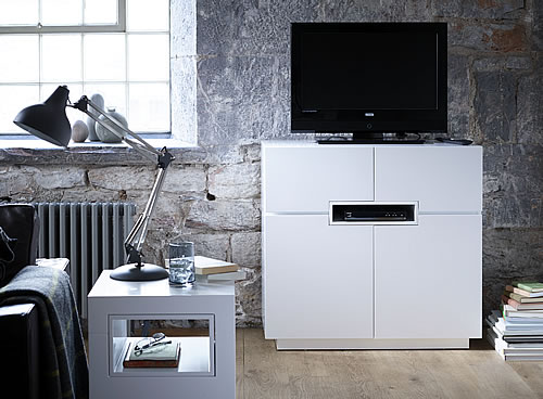 Savoye tall tv cabinet and sideboard