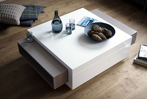 Savoye coffee table with storage