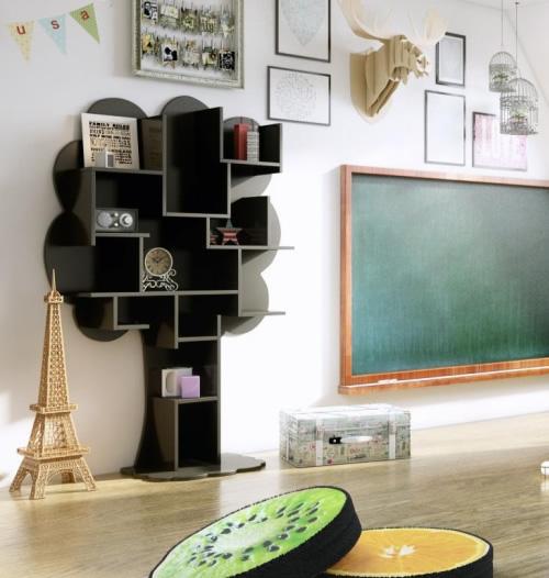 Tree bookshelf home storage systems from store - Bookshelf shaped like a tree ...