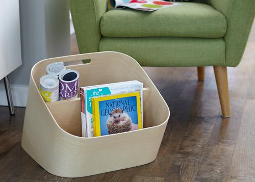 Wooden Magazine Rack - Mole