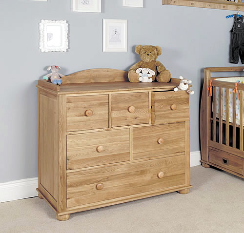 Solid Oak Chest of Drawers - Amelie