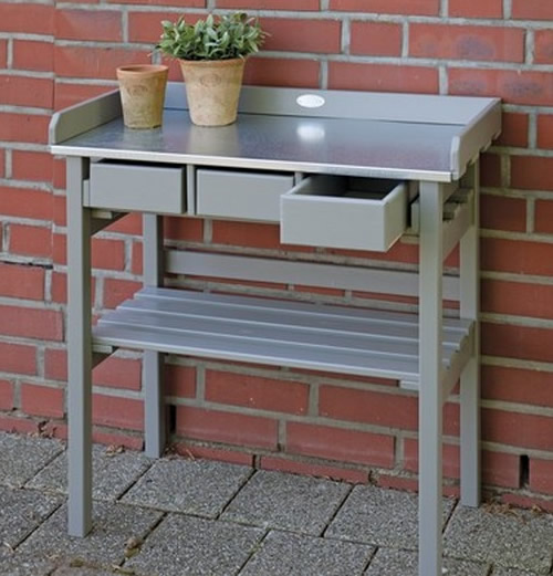 Potting up bench folklore home storage systems from store - Potting bench with storage ...