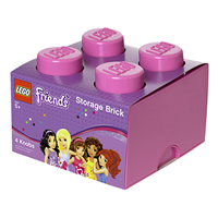 Lego Friends Giant Storage Brick - Medium