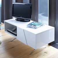 High Gloss Media Sideboard - Glacier