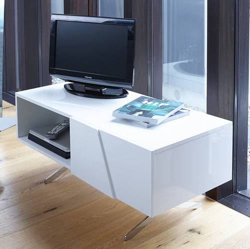 High gloss Glacier media unit