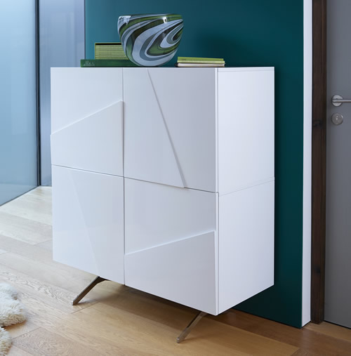 high gloss tall sideboard glacier home storage systems from store