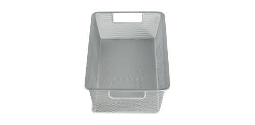 Platinum elfa mesh basket