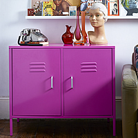 Retro Cabinet Double Locker
