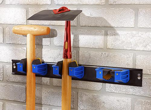 Triple wall mounted tool gripper