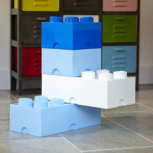 Giant LEGO storage block bundle blues and whites