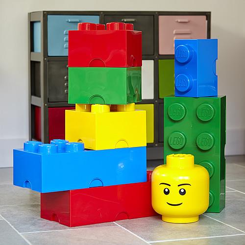 Giant LEGO storage block bundle - Large traditional