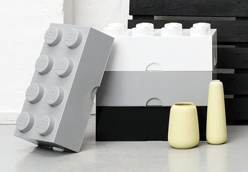 Giant LEGO Storage Blocks - Greys Block Bundle