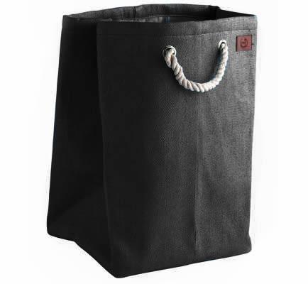 Jute drawstring toy storage bag