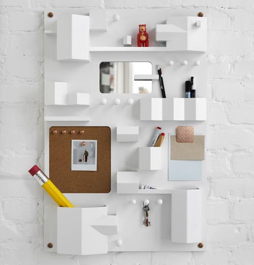 Suburbia Wall Pocket designed by Seletti