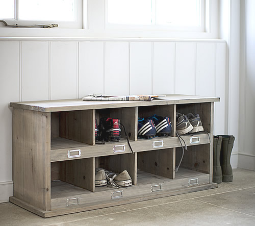 Chedworth Shoe Storage Locker & Bench - Shoe Cupboards | Shoe Storage ...